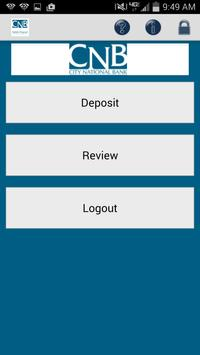 Bankatcnb Remote Deposit apk screenshot