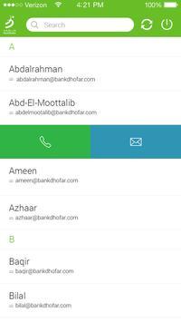 BD Contacts apk screenshot