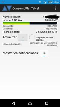 Consumo Telcel apk screenshot