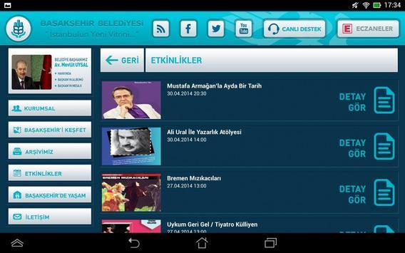 Başakşehir Belediyesi HD apk screenshot