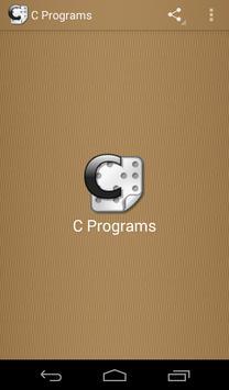 C Programs App apk screenshot