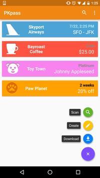 PKPASS 4 Android apk screenshot