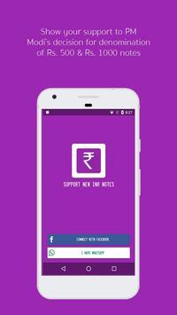 Support Modi Ki Notes poster