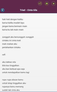 Top Joox lyrics apk screenshot