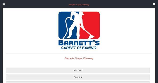 Barnett's Carpet Cleaning apk screenshot