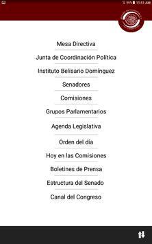 Cámara Senadores poster