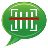 Barcode SMS icon