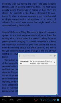 Popup Dictionary apk screenshot