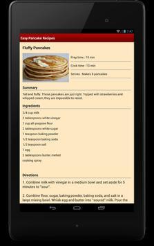 Easy Pancake Recipes apk screenshot