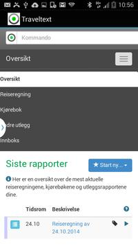 Traveltext apk screenshot