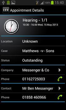 LEX Chambers Management apk screenshot