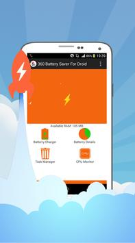 360 Battery Saver For Droid poster