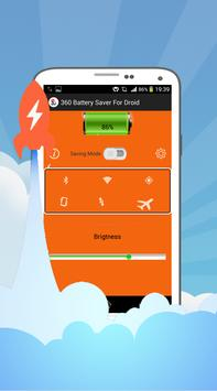 360 Battery Saver For Droid apk screenshot