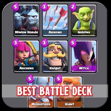 Best Battle Deck Arena 1-7 poster
