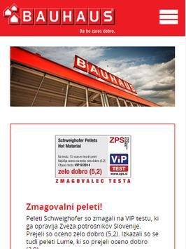 BAUHAUS Slovenija poster