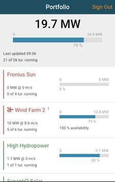 BazeField Wind Farm Monitor poster