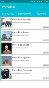 Frases Refranes y Proverbios apk screenshot