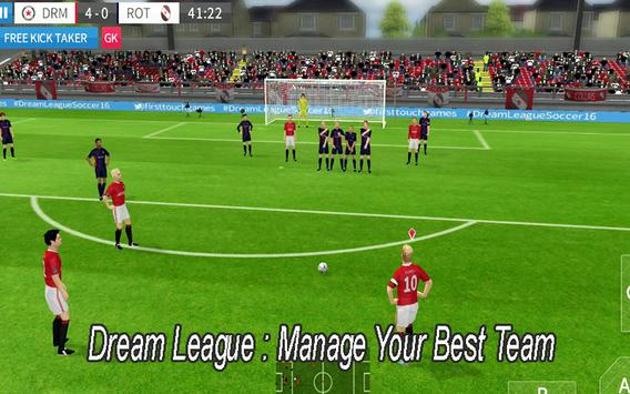 New DREAM LEAGUE SOCCER Tips poster