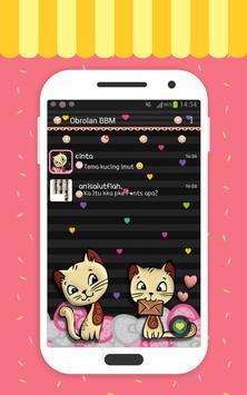 Tema Kucing Imut poster