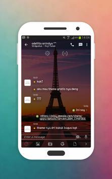 Transparan Theme for BBM apk screenshot