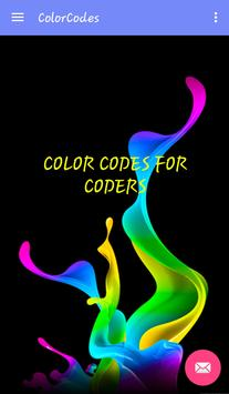 Color Codes for Coders apk screenshot