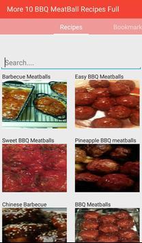 BBQ MeatBall Recipes Full apk screenshot