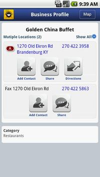 Brandenburg Telephone Book apk screenshot