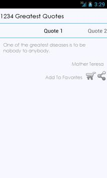 1234 Greatest Quotes Free apk screenshot