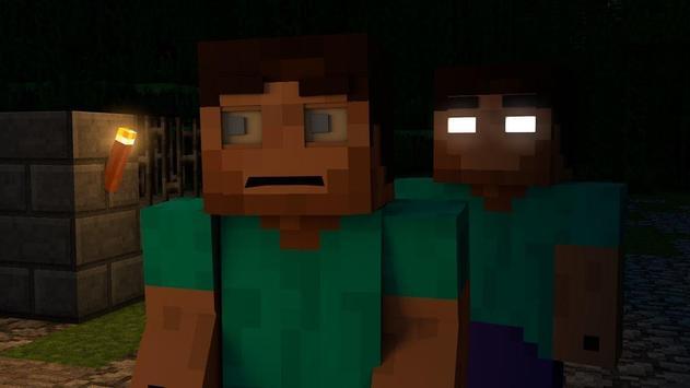Herobrine Mod For Minecraft apk screenshot
