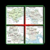 ম্যাপ জেলা ও উপজেলার icon