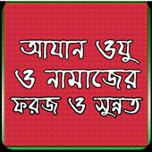 আযান ওযু ও নামাজের ফরজ-সুন্নত icon