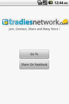 Tradies Network apk screenshot