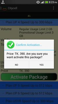 BD Mobile Packages apk screenshot