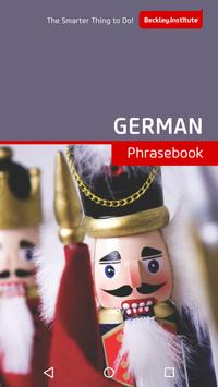 German Phrasebook poster