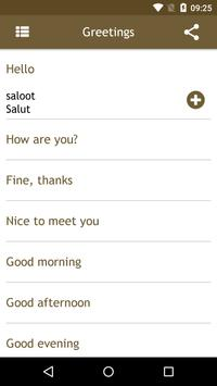 Romanian Phrasebook apk screenshot