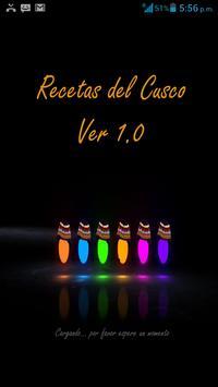 Recetas del Cusco poster