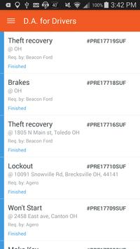 Dispatch Anywhere for Drivers apk screenshot