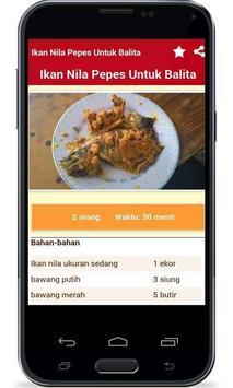 Resep Masakan Anak Balita apk screenshot