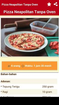 Resep Pizza Lengkap apk screenshot