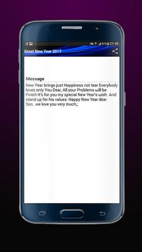 Top New Year Messages 2017 Pro apk screenshot