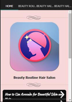 Beauty Routine Hair Salon poster