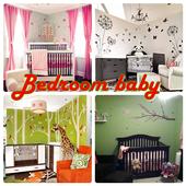 Bedroom baby icon