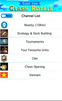 Chat for Clash Royale apk screenshot