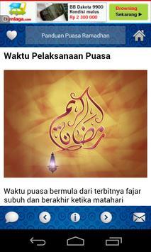 Panduan Puasa Bulan Ramadhan apk screenshot