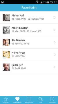 Biyografi apk screenshot