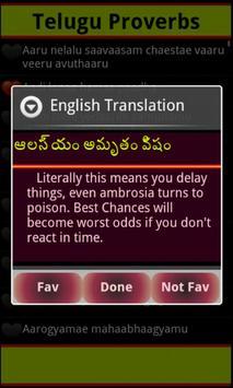 Telugu Proverbs apk screenshot