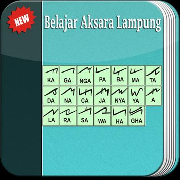 Belajar Aksara Lampung lengkap poster