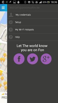 Proximus Wi-Fi Hotspots by Fon apk screenshot
