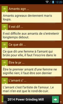 Belles Citations apk screenshot