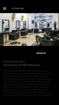 Factory Hair Bcn poster